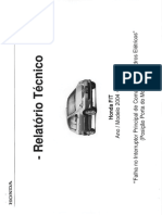 Relatório Técnico Honda Fit