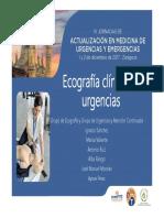 Ecografia de Urgencias