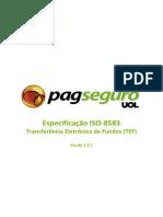 Especificação ISO 8583 PagSeguro