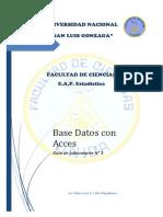 Guia 01 Base de Datos Access 2019