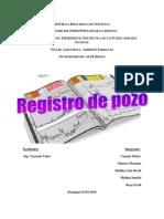 Registro de pozo