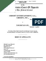 Ubisoft Appeal Brief - Ubisoft Entertainment SA v. Yousician Oy (CAFC 2019)