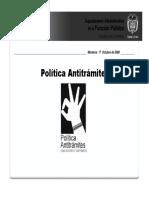 Politica Antitramites-octubre 17 de 2008 (1)