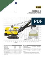 Especificaciones Generales Komatsu 4100XPC