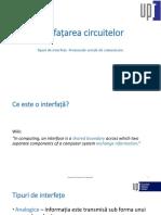 Interfete Ale Circuitelor