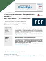 Diagnóstico y tratamiento de la cardiopatía isquémica en mujeres