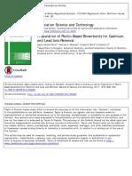 4.Chuẩn Bị Các Chất Hấp Thụ Sinh Học Dựa Trên Pectin Để Loại Bỏ Cadmium Và Chì