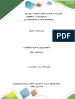 Unidad 3 Fase 5. Planteamiento Propuesta de Investigacion
