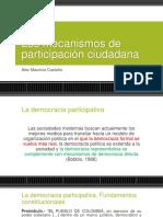 ESPACIOS DE PARTICIPACIÓN CIUDADANA