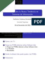Software Libre en Las Pymes