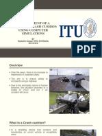 Crash analysis and simulation