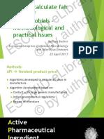 Generics Pharmaceutical product pricing