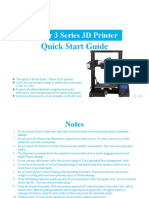 Ender 3 Quick Start Guide
