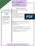 resume coverletter  2