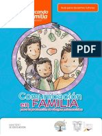 Guía de Comunicación en Familia
