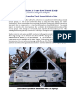 _How to Raise a-Frame Roof Panels Easily