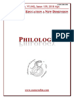 Seanewdim Philology V 46 Issue 159
