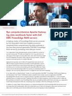 Run compute-intensive Apache Hadoop big data workloads faster with Dell EMC PowerEdge R640 servers - Summary