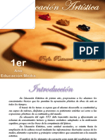 Educacion Artistica 1 Año