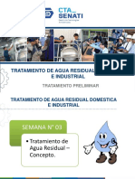 Semana N° 3 - Tratamiento de Agua Residual