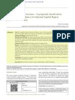 Fracturas de Protesis e Incidencia