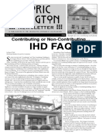 Historic Irvington Newsletter - 2019 Fall