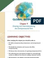 growing and internationalizing