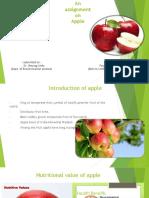 Apple Production ....Peehu