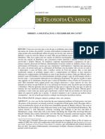 HALLIWELL, S. 2009. ANAIS DA FILOSOFIA CLÁSSICA. v. 3. n. 5. Odisseu