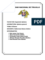 TRBJ. QG. Informe Del Átomo