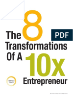 The 8 Transformations of a 10x Entrepreneur
