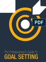 The Entrepreneurs Guide to Goal Setting