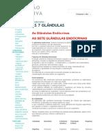 As 7 Glândulas - Nutrição Evolutiva