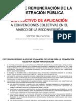 Educación - Instructivo Exclusivo Convención Colectiva - Octubre 2019