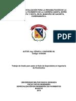 tesis de diagnostico de pavimento