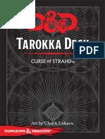 Deck de Tarroka Curse of Strahd impressão