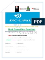 1 SNC-Lavalin Inc. Employment Contract Agreement Letter