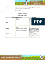 Evidencia Ejercicio Practico Identificar Las Caracteristicas de Los Suelos
