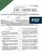 Décret 2-94-858, fixant les attributions et l'organisation du ministère des pêches maritimes et de la marine marchande