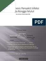 Pathogenesis Penyakit Infeksi Orokraniofasial