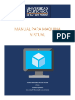 Manual para maquina virtual