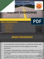 Rigid Pavement in Magallanes Interchange