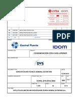 Ccpsl-ets-dvs-4002 Rev.000 Especificación Técnica General de Pintura_cpsa Comm
