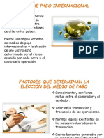 MEDIO S DE PAGO  INTERNACIONAL