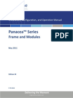 Panacea Frames and Modules User Guide 20110501