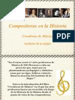 Compositoras en la historia