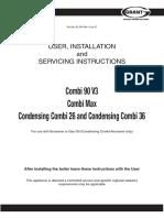 GRANT Vortex Combi Combi Technical Manual
