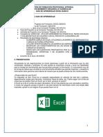 Guia de Aprendizaje - Excel Basico V3
