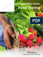 Waters Application Notes Food Testing