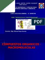 Clases de Biomoleculas y Macromolecuas